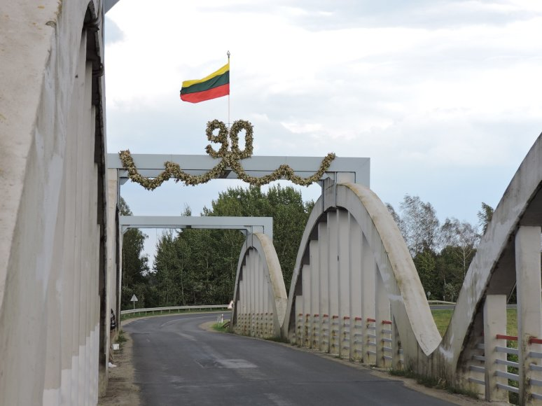 In August Ustukiai Bridge Has Counted 90 Years